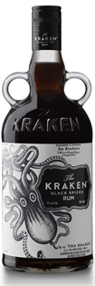 The Kraken Rum Black Spiced 750ml